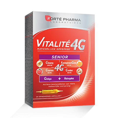 Image of Forté Pharma Vitalité 4G Senior 20 Ampullen