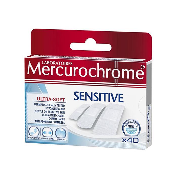 Image of Mercurochrome Sensitive 40 Pleisters
