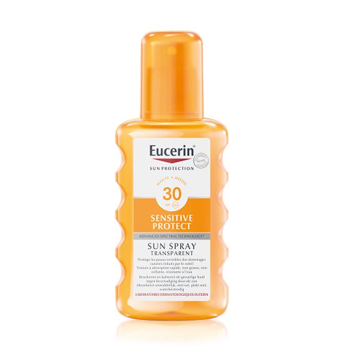 Image of Eucerin Zon Sensitive Protect Transparant Spray SPF30 200ml