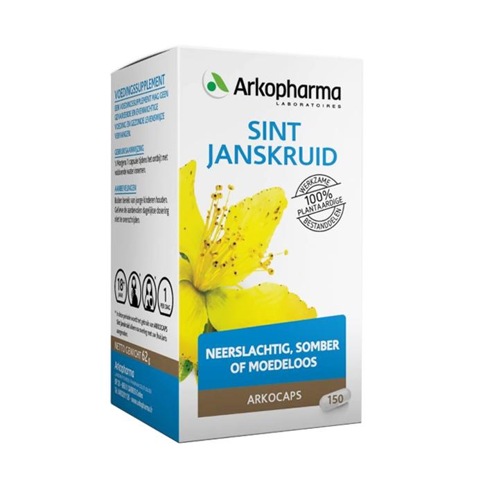 Image of Arkocaps Sint-janskruid Slaap & Stress 150 Capsules