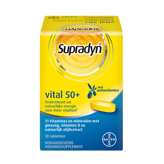 Image of Supradyn Vital 50+ 30 Tabletten