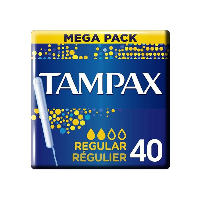 Image of Tampax Regular Tampons 40 Stuks