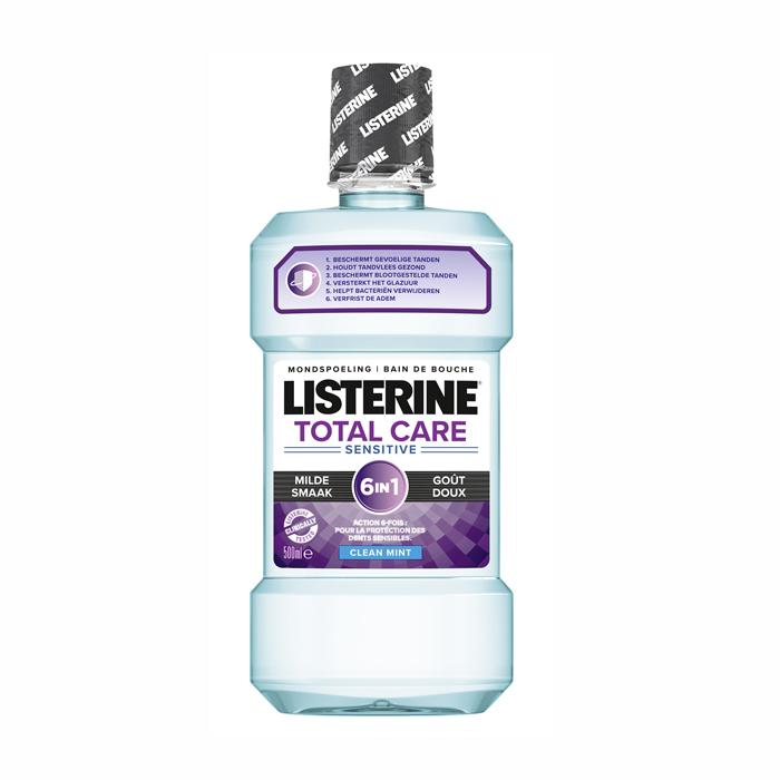 Image of Listerine Total Care Sensitive 6-in-1 Mondspoeling 500ml
