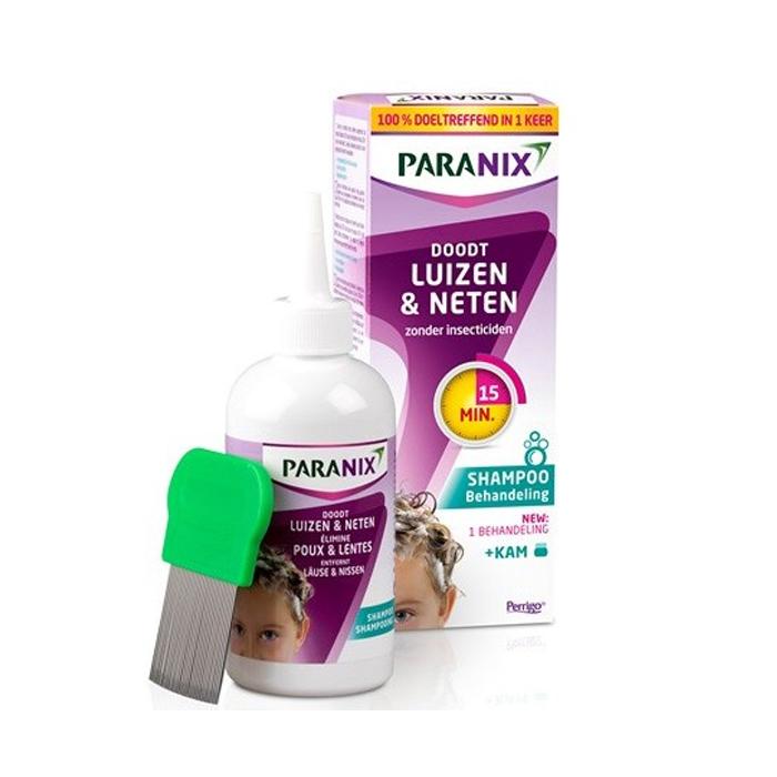 Image of Paranix Behandelingsshampoo Luizen & Neten 200ml + Gratis Kam