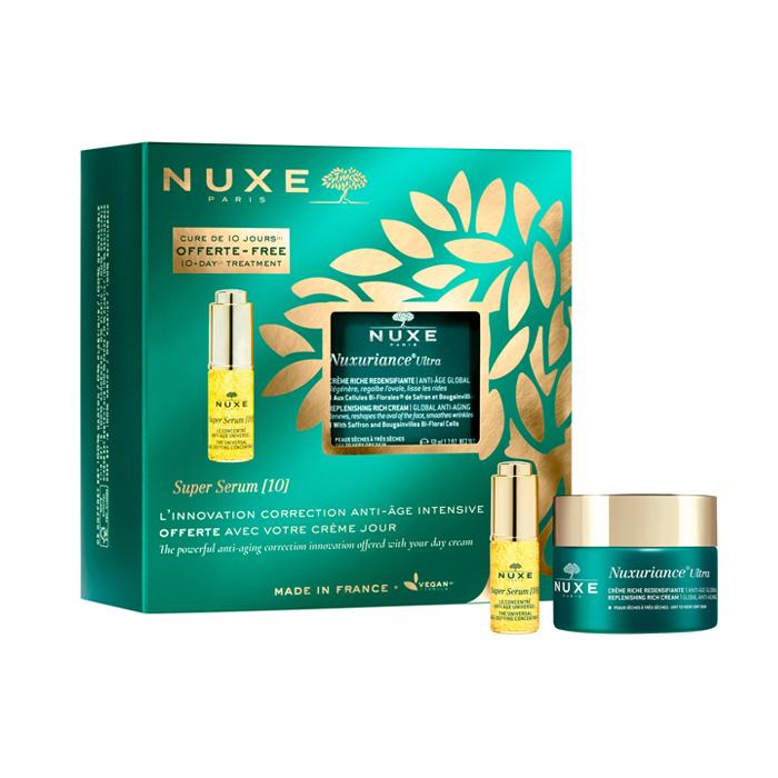 Image of Nuxe Geschenkkoffer Nuxuriance Ultra Rijke Crème 50ml + GRATIS Super Serum [10] 5ml