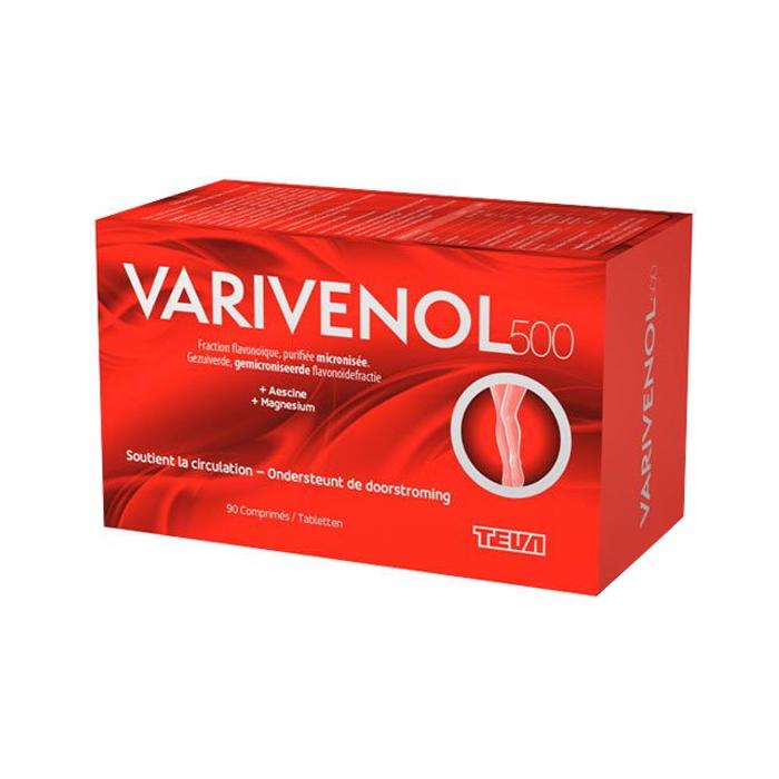 Image of Varivenol 500mg 90 Tabletten