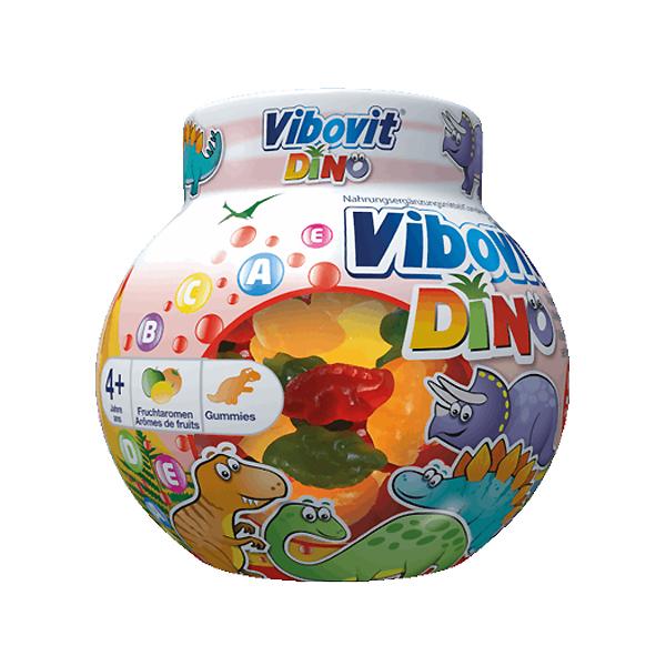 Image of Vibovit Junior 4+ Dinosaurus 50 Gummies