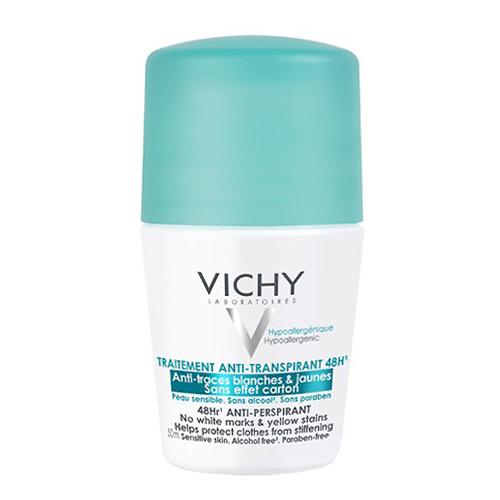 Image of Vichy Deodorant Roller Anti-Witte en Gele Vlekken 48u 50ml