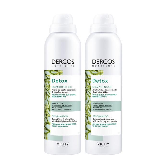 Image of Vichy Dercos Nutrients Detox Droogshampoo Duopack 2x150ml