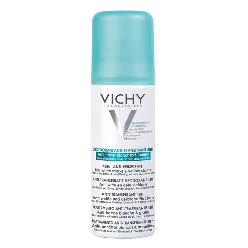 Image of Vichy Deodorant Spray Anti-Witte en Gele Vlekken 48u 125ml