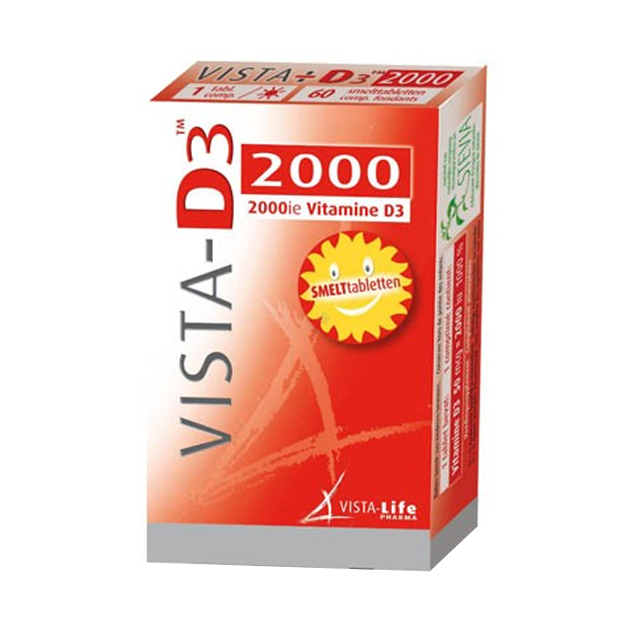 Image of Vista-D3 2000 60 Smelttabletten
