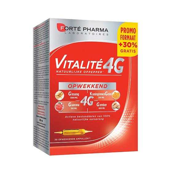 Image of Forté Pharma Vitalité 4G 30 Ampoules