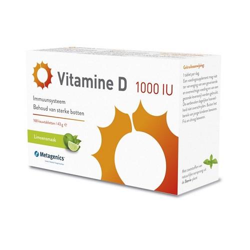 Image of Vitamine D 1000iu 168 Tabletten Metagenics