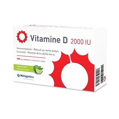 Image of Vitamine D 2000iu 168 Tabletten Metagenics