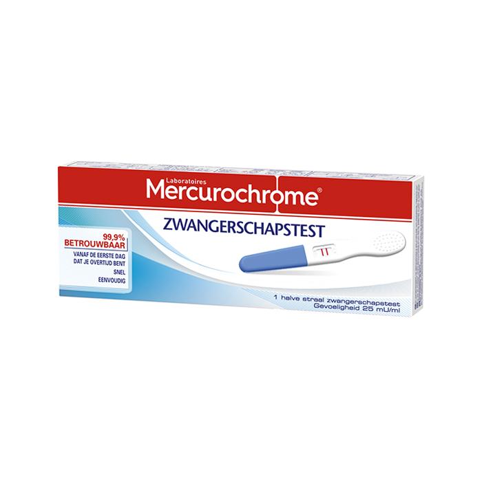 Image of Mercurochrome Zwangerschapstest 1 Stuk