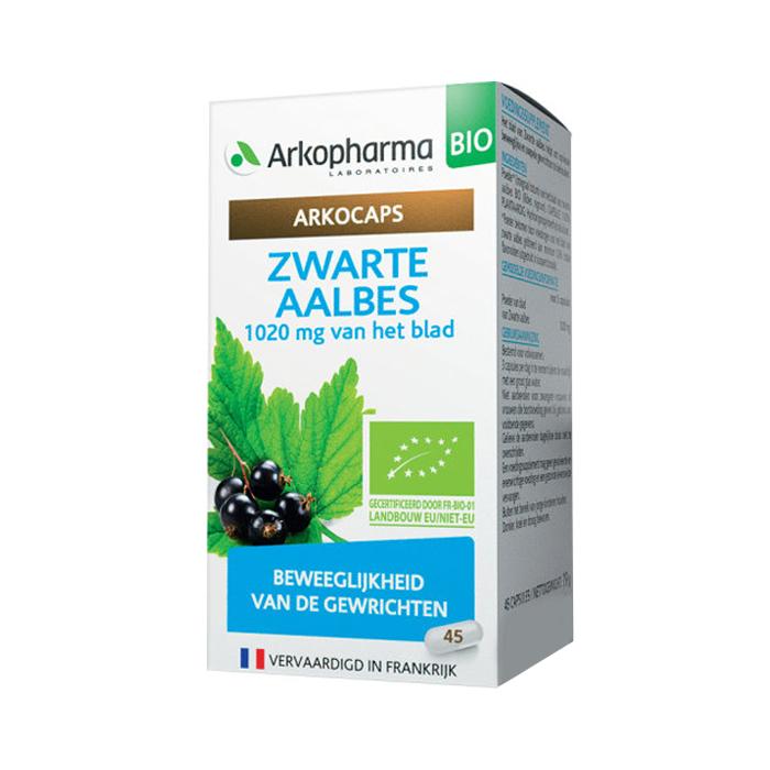 Image of Arkocaps Zwarte Aalbes Bio 45 Capsules NF